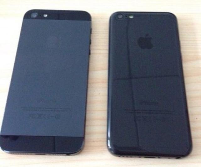 Первые фото черного iPhone 5C
