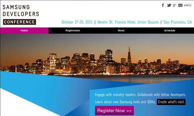 Открыта регистрация на первую Всемирную ежегодную конференцию Samsung Developers Conference