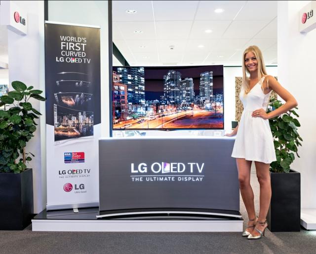 Первые в Европе: LG представляет CURVED OLED-телевизор в странах ЕС