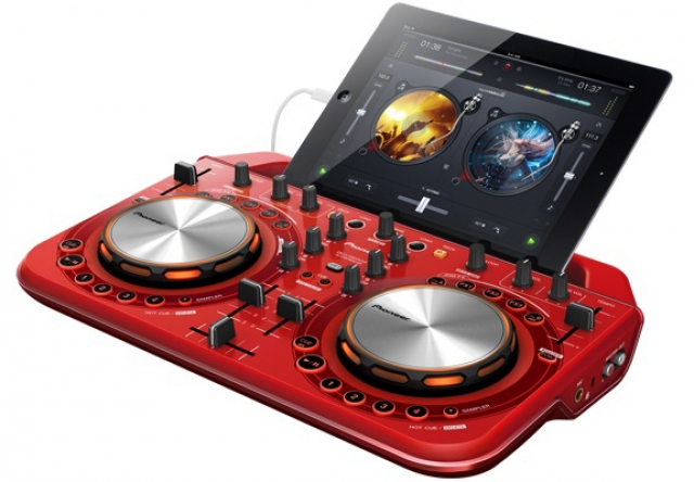 Портативный диджейский контроллер Pioneer DDJ-WEGO2 для iPad и iPhone