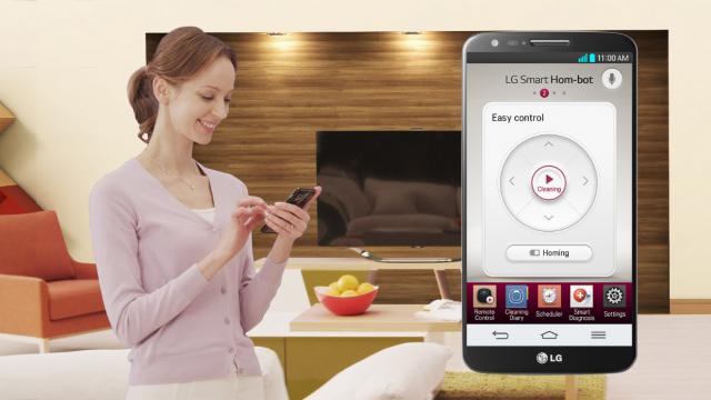 LG представляет «умный» пылесос HOM-BOT SQUARE на выставке  IFA 2013
