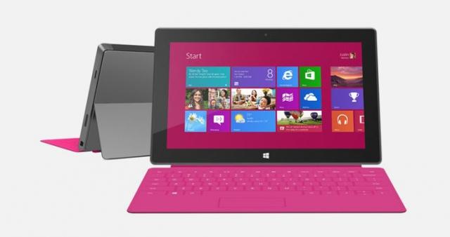 Второе поколение Microsoft Surface и Tegra 4