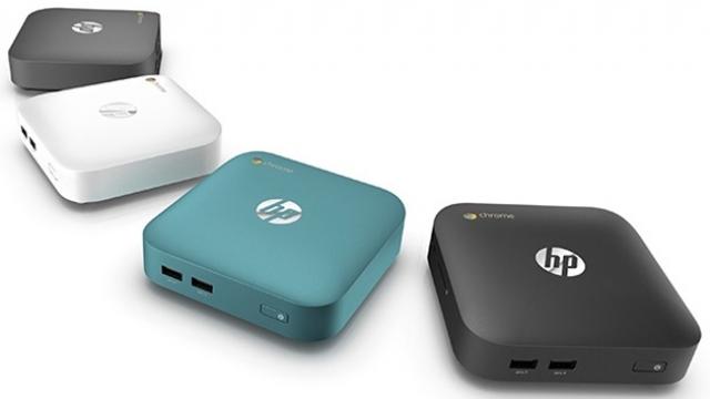 Первые Chromebox от HP появятся весной