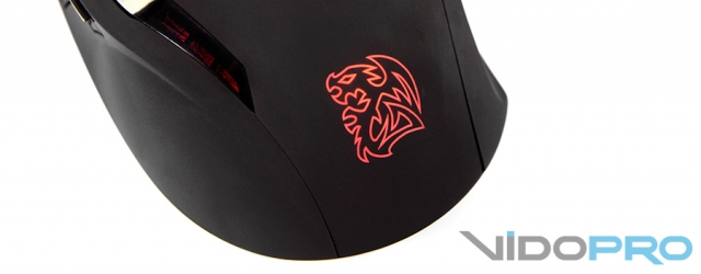 Tt eSports by Thermaltake Black Gaming Mouse: максимальный комфорт