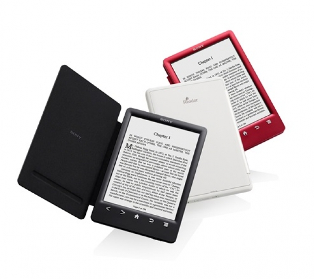 Новый Sony Reader со встроенной обложкой