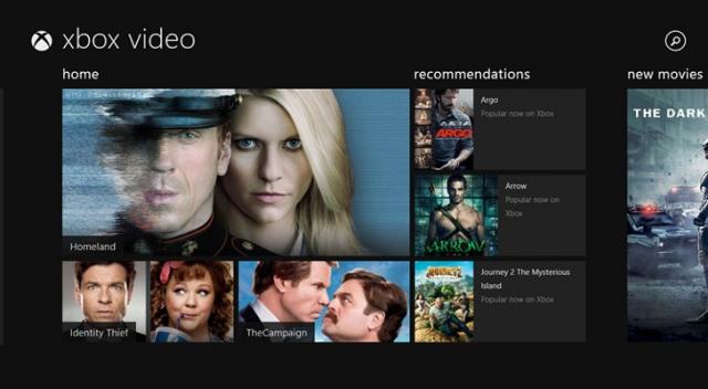 Xbox Video получит больше изменений на Windows 8.1