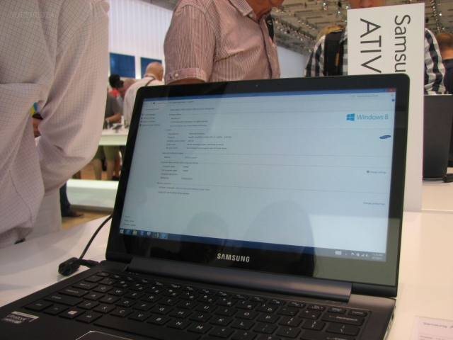 IFA 2013: Samsung ATIV Book 9 Plus