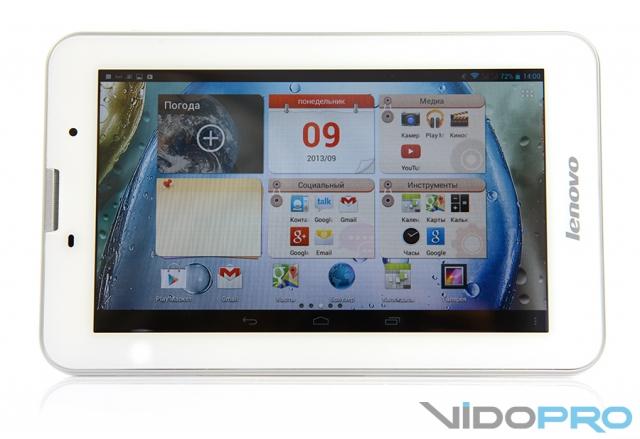 Lenovo IdeaTab A3000: 6000 минут для разговоров