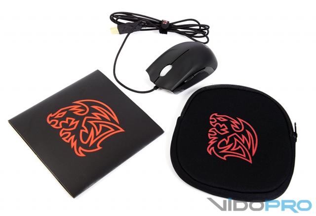 TteSports by Thermaltake Saphira Gaming Mouse: мышка с татуировкой дракона