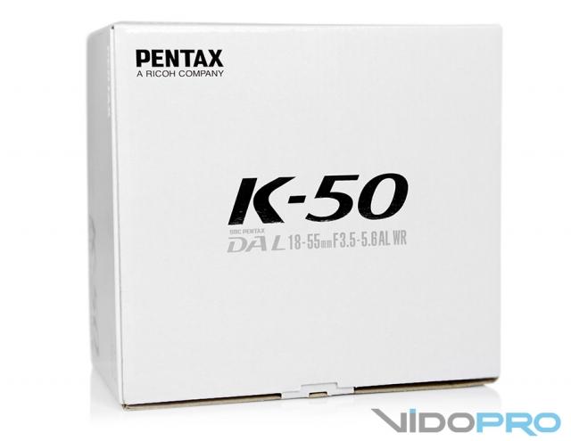 Pentax K-50: плохая погода не помеха