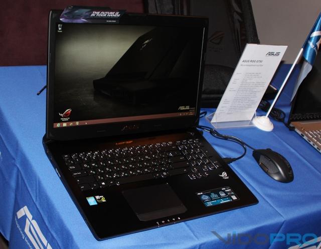 В Украине представлены новые мультимедийные ноутбуки ASUS