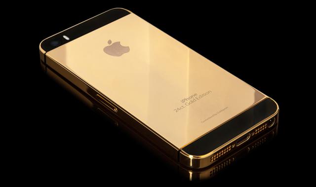 Сколько стоит золотой iPhone 5S на черном рынке?