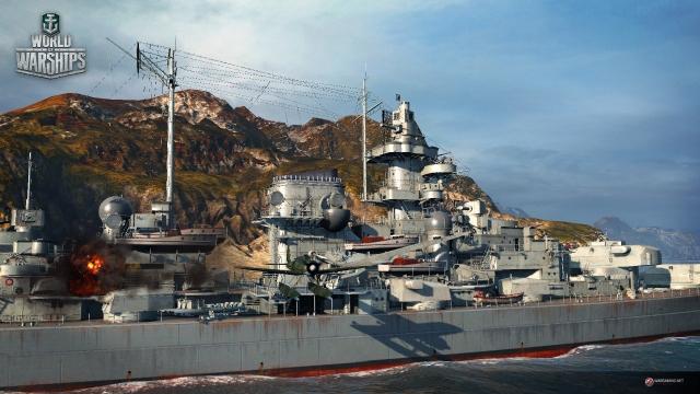 World of Warships: немцы, полный вперед!