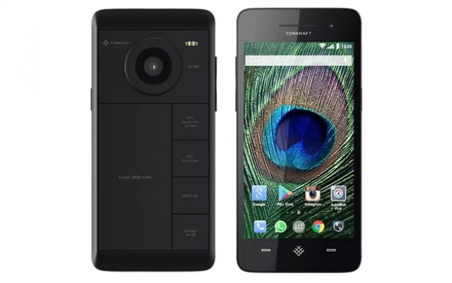 Fonkraft – модульный смартфон с 20-мегапиксельной камерой и батареей на 4100 мАч и многими другими опциями
