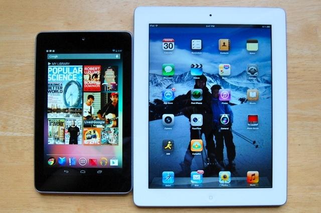 Продажи Android-планшетов впервые превысили продажи iPad