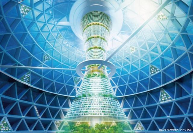 Подводный город-сфера на 5000 человек самостоятельно обеспечивает себя энергией