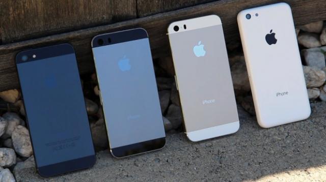 iPhone 5S - самый продаваемый смартфон в США