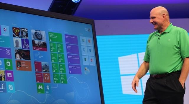 Microsoft работает над созданием габаритного девайса на Windows 8