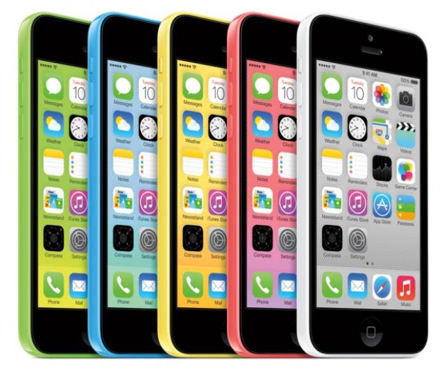 iPhone 5S и 5С появится в 25 странах с 25 октября
