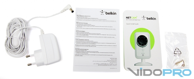 Belkin NetCam Wi-Fi Camera with Night Vision: всегда начеку