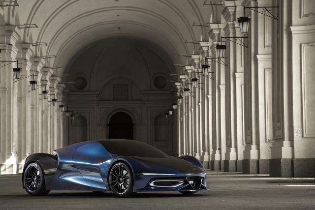 Футуристический концепт-кар от McLaren 2015 IED Syrma на фото и видео