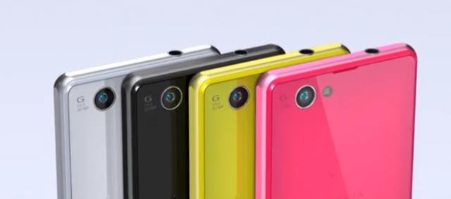 Sony представила смартфон Xperia Z1 f