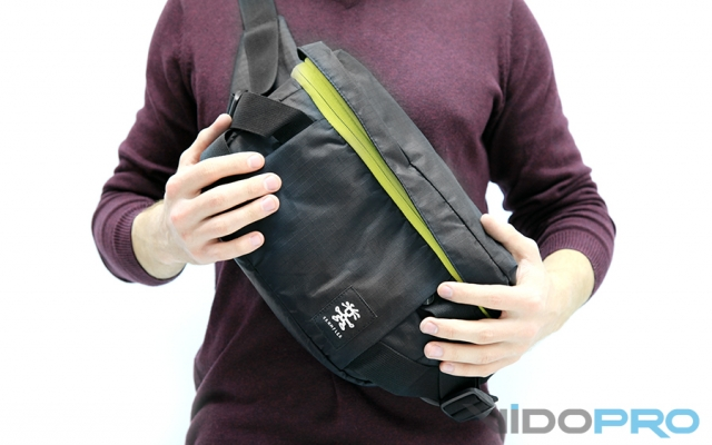 Crumpler Light Delight Foldable Backpack: бездонная сумка