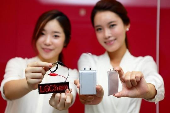 LG Chem начинает производство изогнутых аккумуляторов