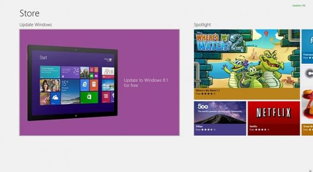 Обновление Windows 8.1 недоступна для некоторых пользователей