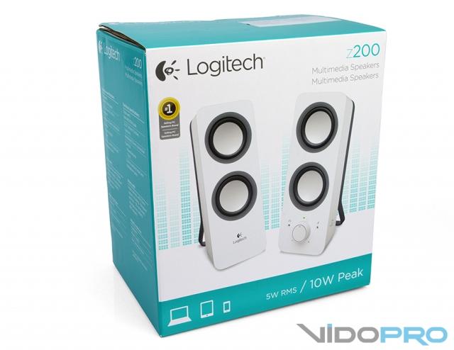 Logitech Z200: объемный звук и точный бас