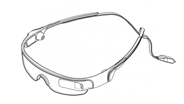 Samsung запатентовала дизайн спортивных очков, которые можно синхронизировать со смартфоном
