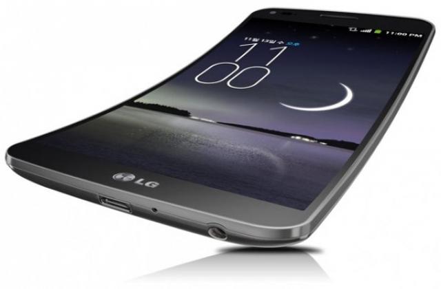 LG презентовала свой первый смартфон с изогнутым дисплеем - LG G Flex