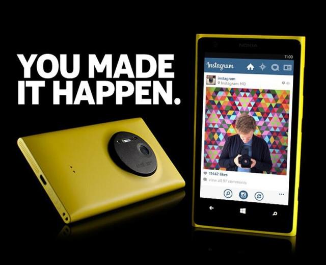 Nokia представила тизер приложения Instagram для Windows Phone