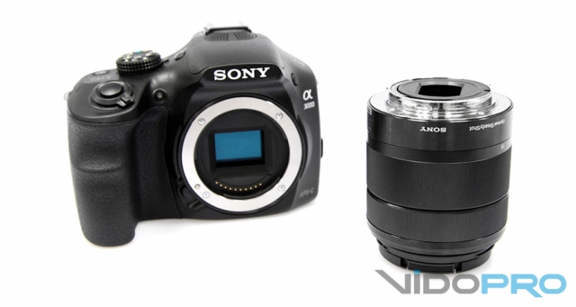 Sony ILCE-3000K: очень доступная беззеркалка
