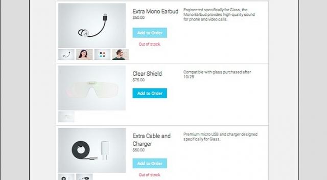 Google открыла дорогой магазин аксессуаров для Glass
