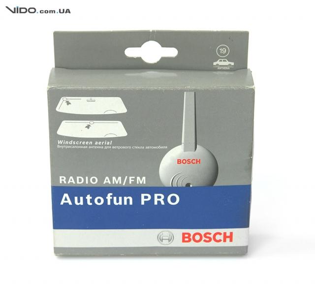Обзор активной антенны Bosch Autofun Pro: лучший прием!