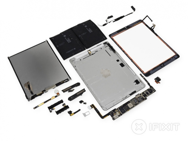 Команда iFixit разобрала новый iPad Air