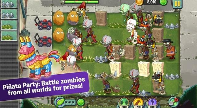 Plants vs. Zombies 2 для Android 1.5 доступна для загрузки