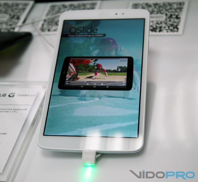 """В Украине представлен 8"""" планшет и Dual-SIM смартфон LG из серии G"""