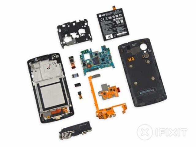 Команда iFixit разобрала Nexus 5