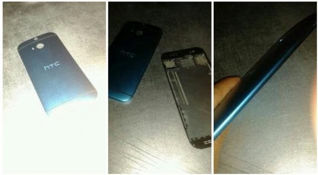 Фото флагмана HTC M8 2014 года с новым сканером отпечатков пальцев