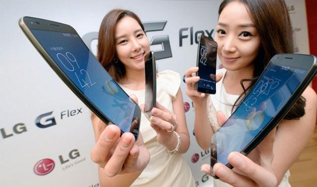 Смартфон LG G Flex: цена, когда и где будет доступен