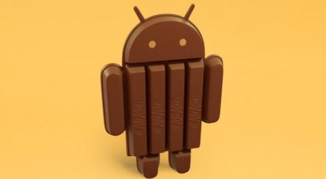 Android 4.4 будет показывать расход батареи в статусном меню