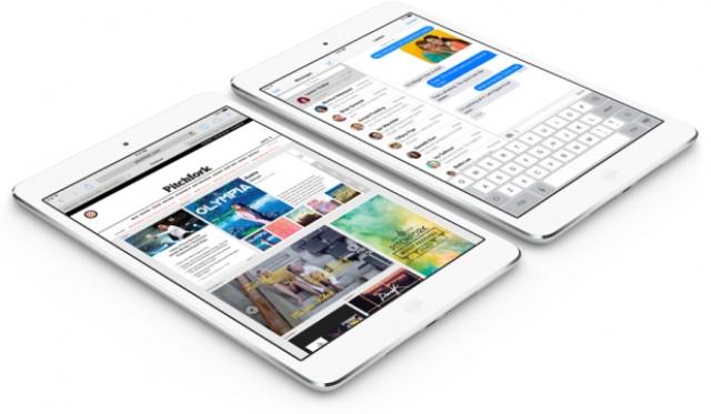 Бенчмарки: iPad mini Retina в пять раз быстрее старого iPad mini