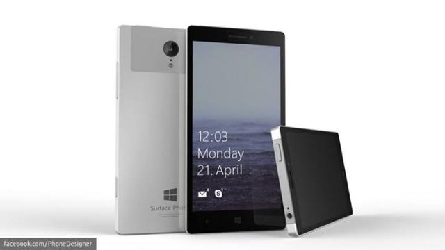 Microsoft уже какое-то время работает над собственным смартфоном