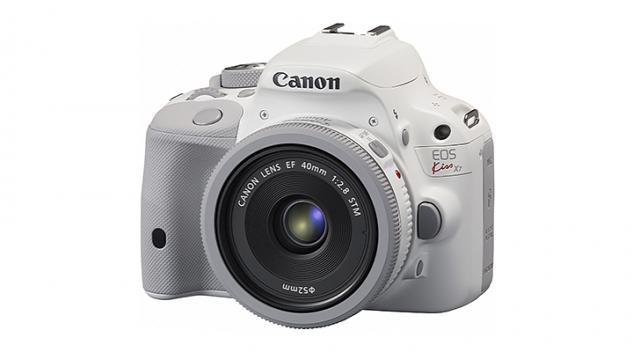 Canon представила белый EOS Kiss X7
