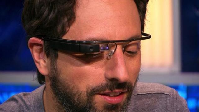 Сенсорная панель на Google Glass