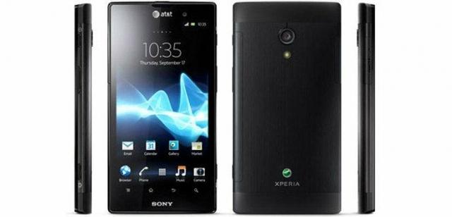 Sony Xperia ion – встречайте в Европе в сентябре!