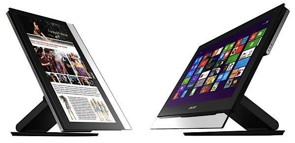На Computex в Тайбэе в Acer показали свое видение ОС Windows 8