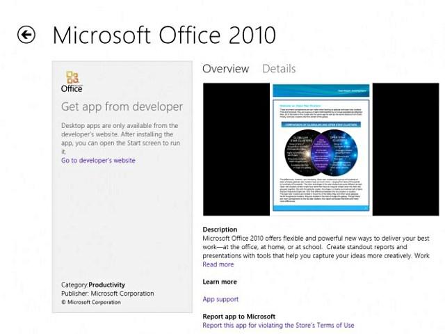 Windows Store обзавелся первым десктопным приложением